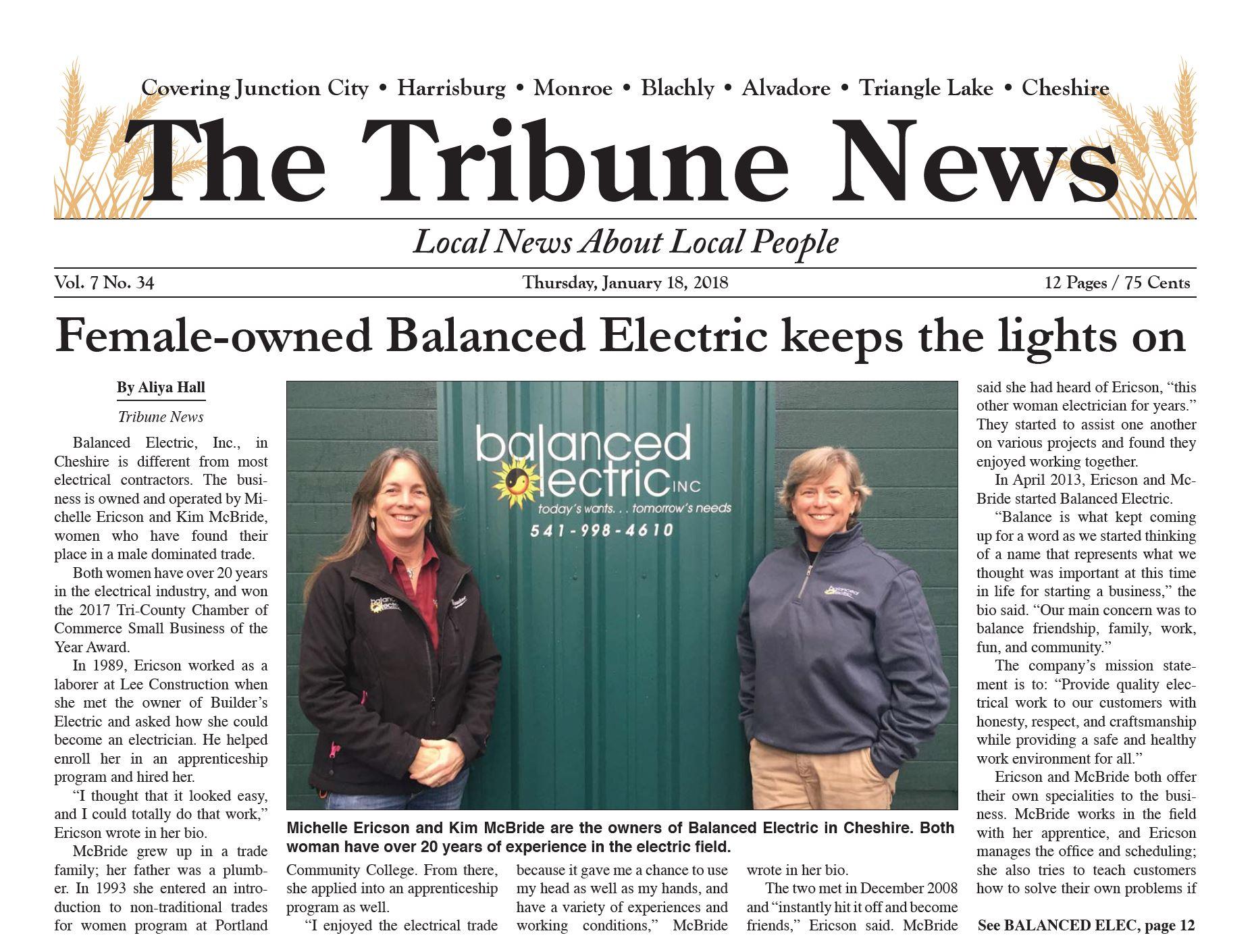 The Tribune News 2