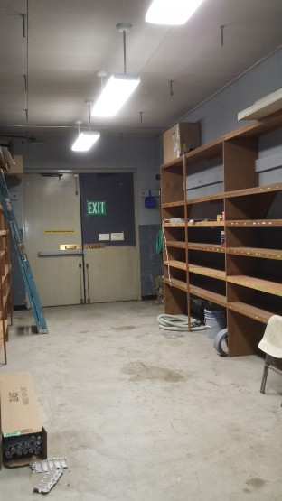 Office Storage lighting LED fixtures after
