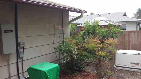 This is the finished project for this small home in Corvallis.