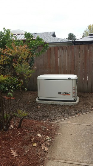 This 11 kW generator backs up this small house in Corvallis