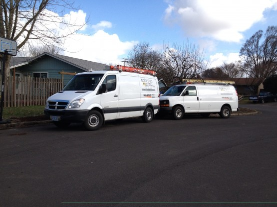 Our service trucks