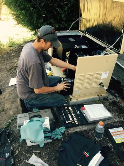 Service on a generator is essential to make sure the unit is ready when the power goes out.