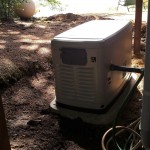 22 kW Generac Home Standby unit