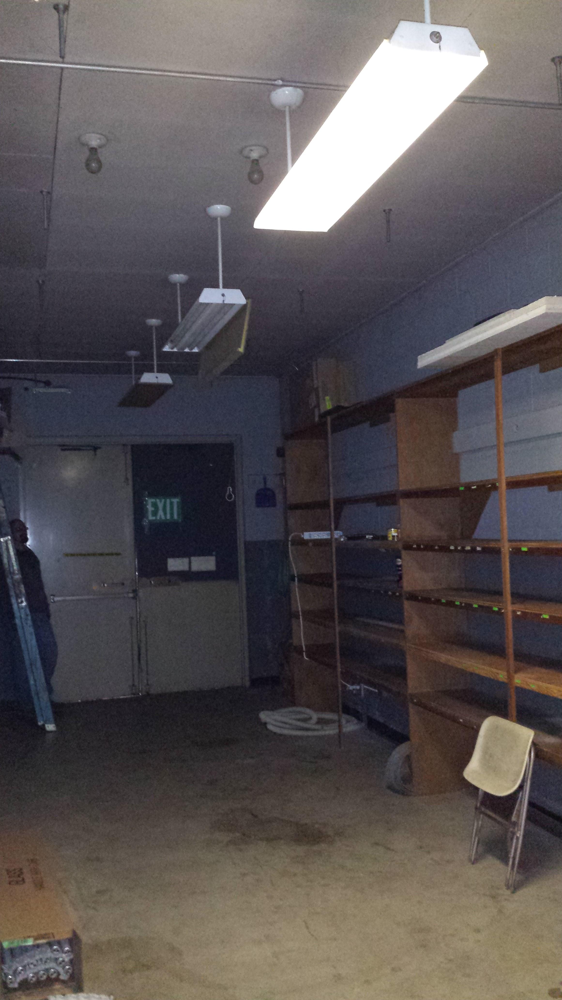 Office Storage Room Lighting Balanced Electric