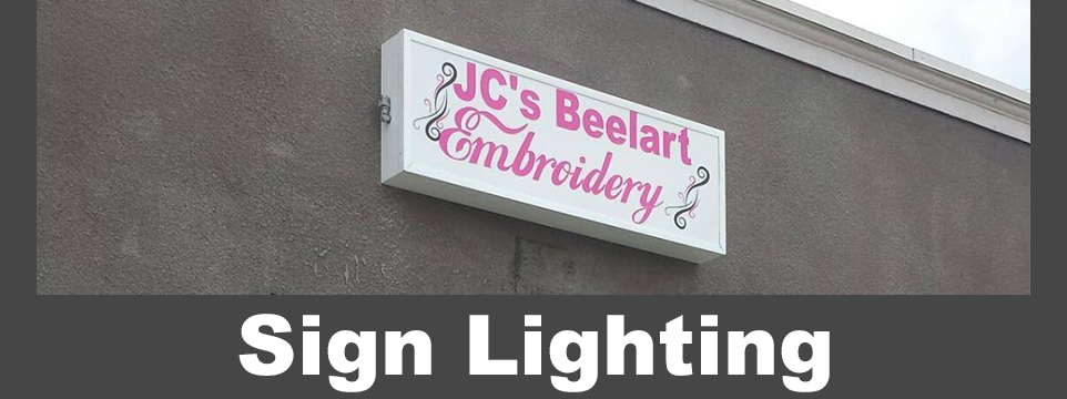 Sign Lighting